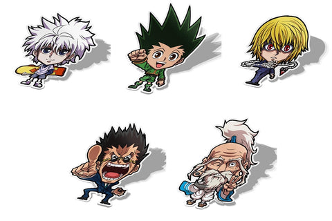 HXH Licensed Hunter Set-Chibi Anime Manga-Vinyl Sticker-HunterXHunter-AJTouch