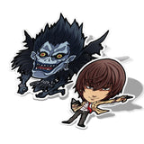 Light and Ryuk, Vinyl Sticker, Death Note, AJTouch