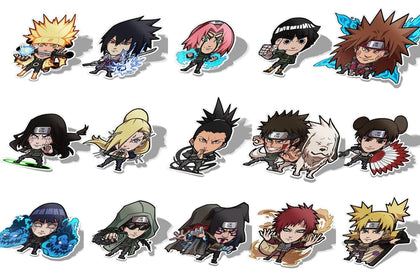 Ninja Legacy Collection-Chibi Anime Manga-Vinyl Sticker-Naruto-AJTouch
