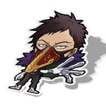 Overhaul-Chibi Anime Manga-Vinyl Sticker-Hero Academia-AJTouch