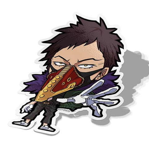 Overhaul, Vinyl Sticker, Hero Academia, AJTouch