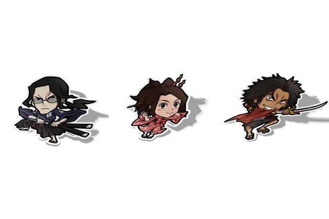 Samurai Champloo Set, Sticker Pack, Samurai Champloo, AJTouch