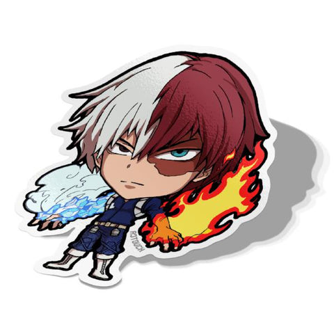 Shoto, Vinyl Sticker, Hero Academia, AJTouch