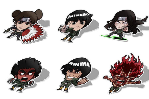 Team Guy Naruto Set, Sticker Pack, Naruto, AJTouch