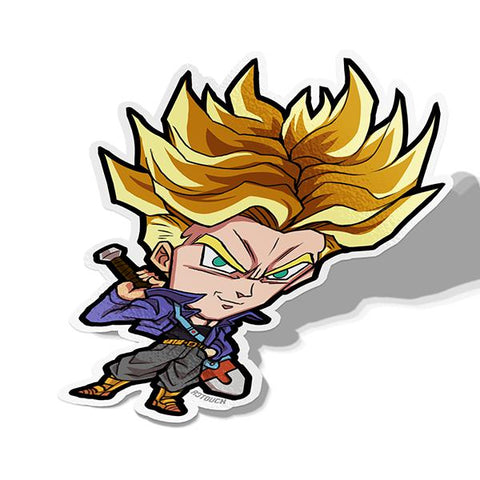 Future Trunks-Chibi Anime Manga-Vinyl Sticker-Dragonball-AJTouch