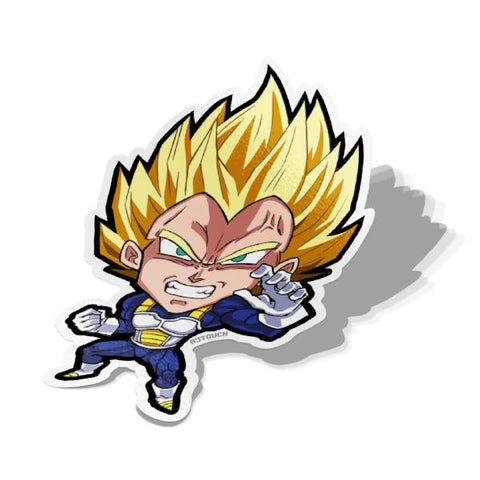 Vegeta, Vinyl Sticker, Dragonball, AJTouch
