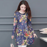 long-sleeved Dress - The Land of Florals