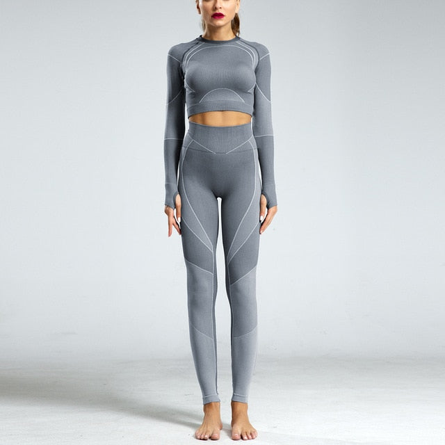 Yoga Suit High Waist - The Land of Florals