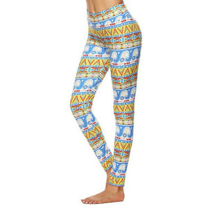 Digital Printing Leggings - The Land of Florals