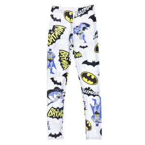 Hot Sale Digital Batman prints Leggings - The Land of Florals