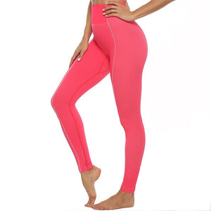 High waist Fitness Leggings Sportswear Set - The Land of Florals