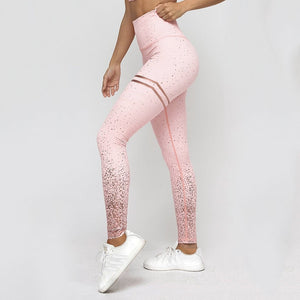 Women Gym Fitness Workout Skinny Leggings - The Land of Florals