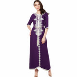 Middle Eastern Arabian Style Inspired Long sleeve Kaftan Dress