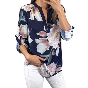 Half Sleeve Floral Print Shirt - The Land of Florals
