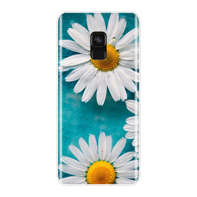 Trendy Samsung Galaxy A3 A5 A7 Soft Silicone Phone Case - The Land of Florals
