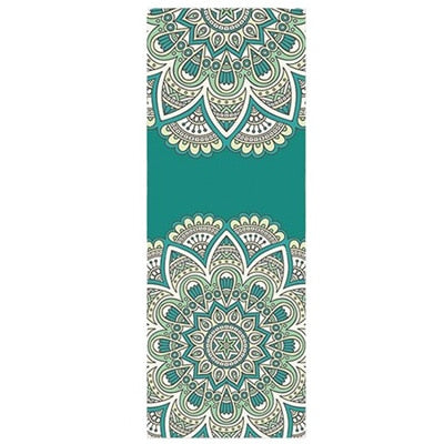 Unique Patterned Non-slip Yoga Mat