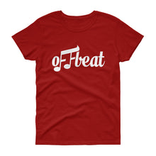 Load image into Gallery viewer, Offbeat Logo T-Shirt (Women's)