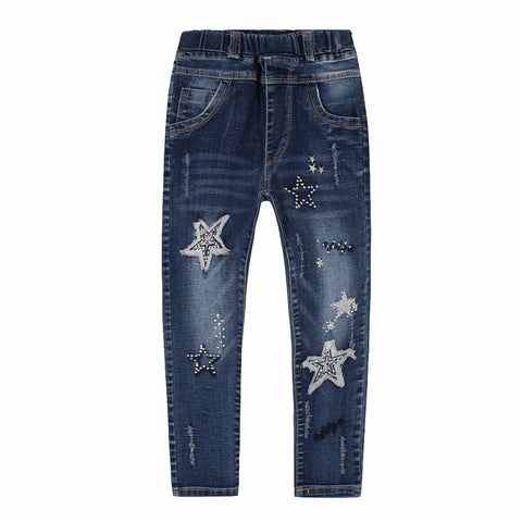 Sequined Stars Leggings Jeans