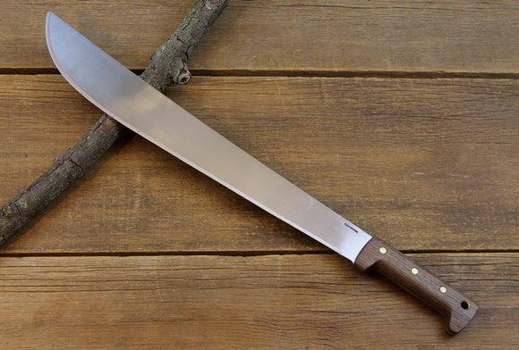 Condor El Salvador Machete - Polished Blade with Wood Handle