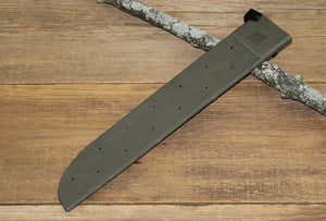 "GI SPEC 18"" Hard Machete Sheath - Green"