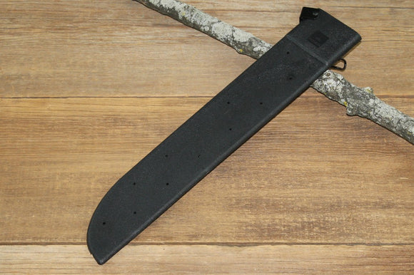 GI SPEC Hard Machete Sheath, Black 18″