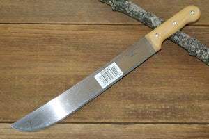 "Tramontina 14"" Bush Machete with Wood handle"