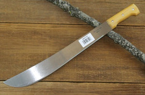 "Tramontina 18"" Bush Machete with Wood handle"
