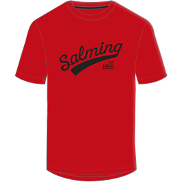 Salming Logo T-shirt, Rød, Junior