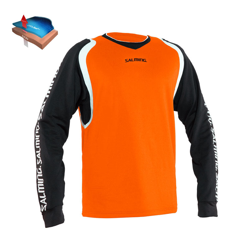 Salming Agon Målmandsbluse, Orange