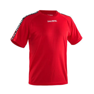 Salming Trænings T-shirt, Rød, Junior