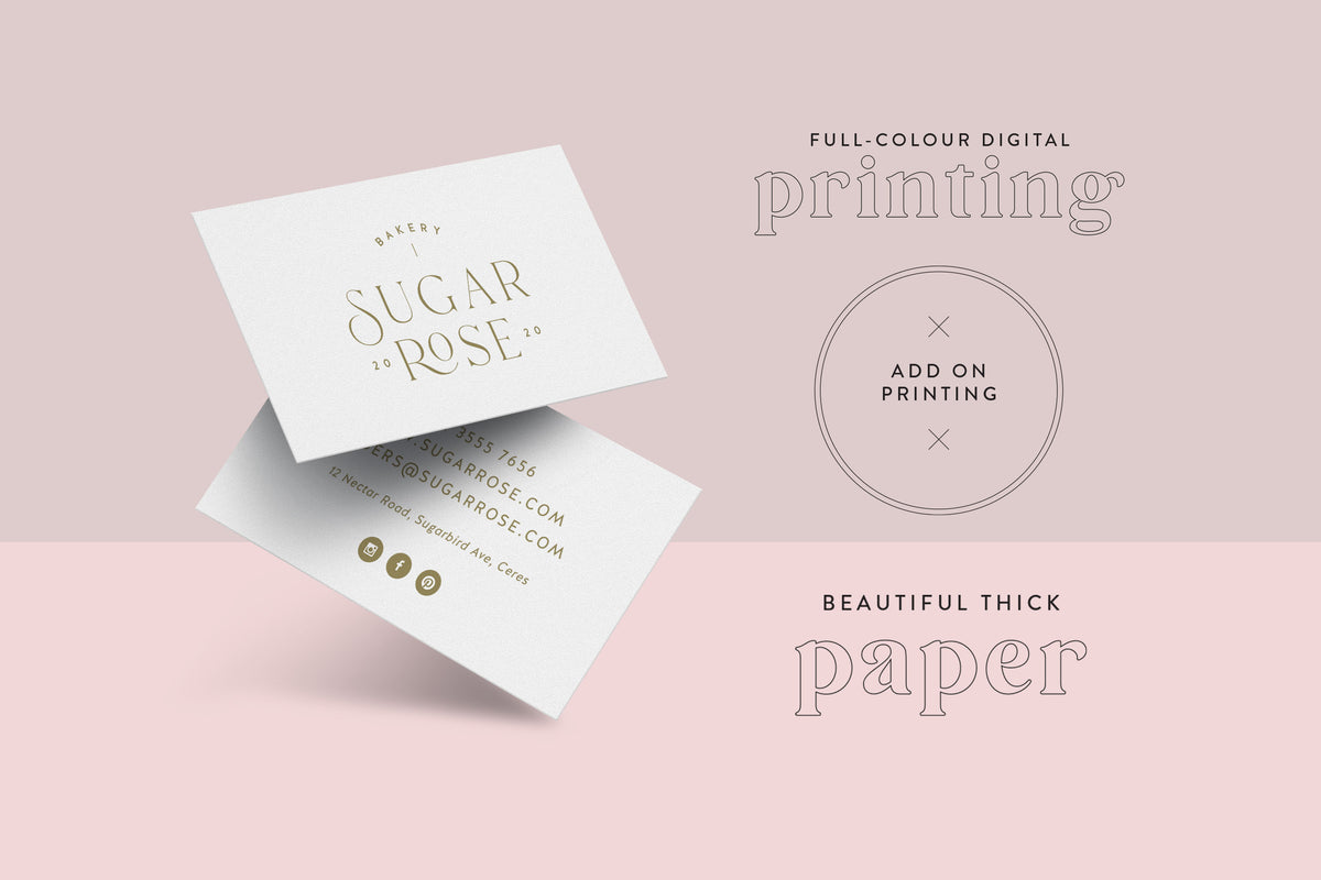 ADD ON: Business Card Printing