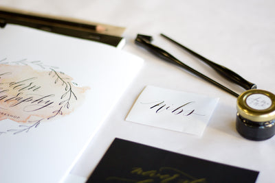 Workshop : Introduction to Modern Calligraphy - Susan Brand Designs Cape Town Paarl
