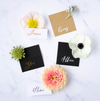 Calligraphy Tent Cards - Susan Brand Designs Cape Town Paarl