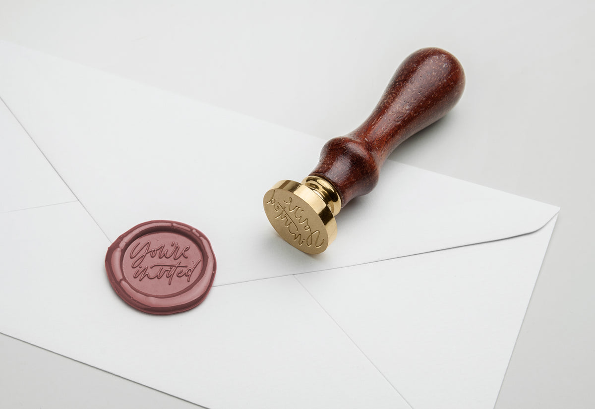 You're Invited Wax Stamp