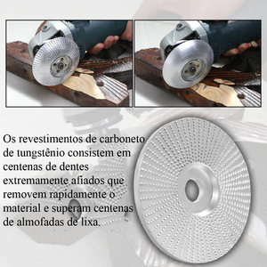 Sharp Shaper ™ Disco De Carboneto De Tungstênio