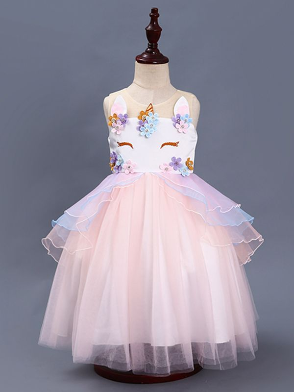 Beautiful Unicorn Dress With Amazing Detail