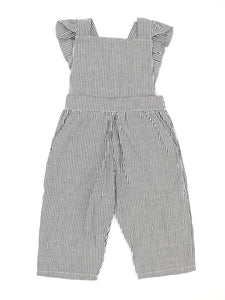 Adorable Backless Striped Jumpsuit