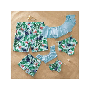 Mother Daughter Palm Suit Set