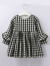 Load image into Gallery viewer, Checkered Chic Dress