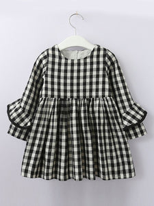 Checkered Chic Dress