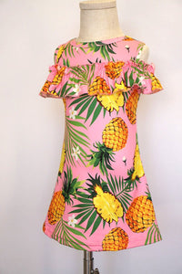 Pretty Pineapple Palm Dress