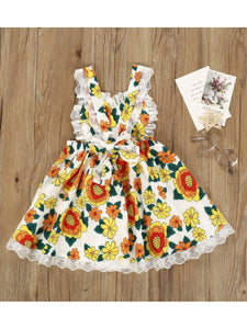 Fall Flower Dress