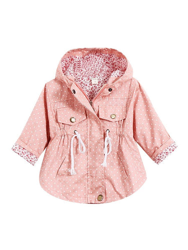 Polka Dot Girl Jacket
