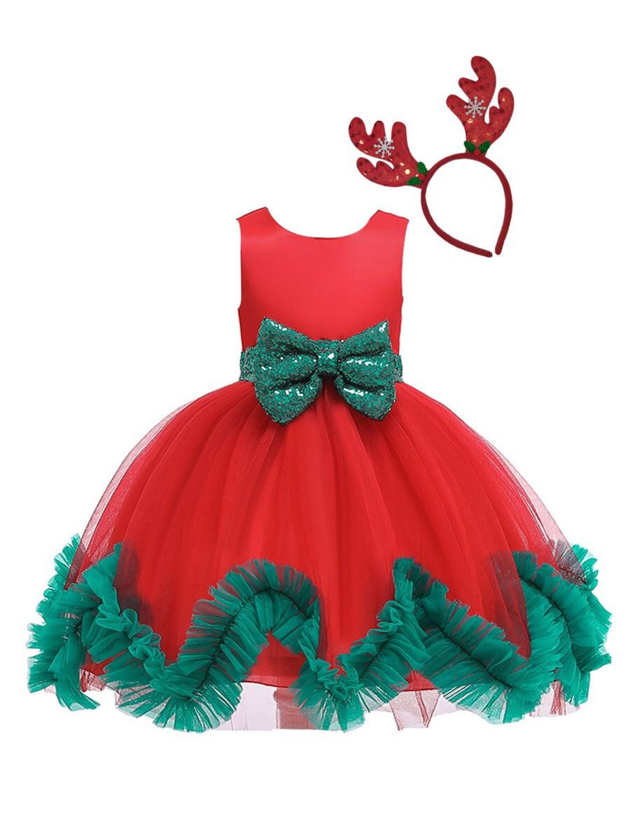 Reindeer Triumph Dress 👗