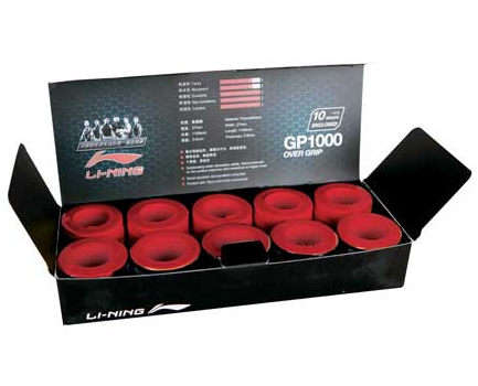 BADMINTON GRIP TAPE GP1000 [RED]