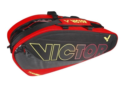 Victor BR6207 D Red/Black Badminton Bag (12 Racket)
