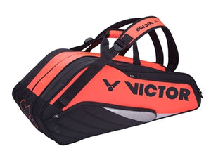 Victor BR8308 Q Rose Red/Black Badminton Bag (16 Racket)