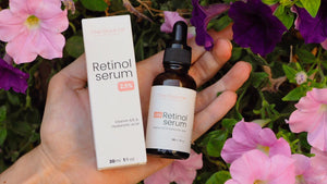 2.5% Retinol Serum, 30ml - The Source, [retinol], [skincare], [anti aging], [anti wrinkles], [serum], [retinol serum], [thesource france], [natural skincare], [anti-aging], [collagen], [hyaluronic acid]