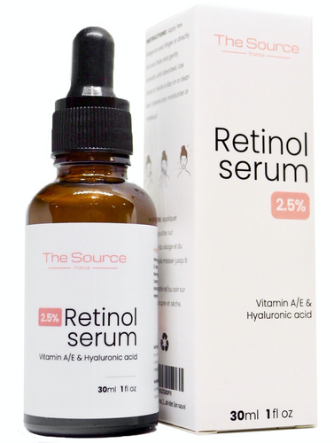 2.5% Retinol Serum, 30ml
