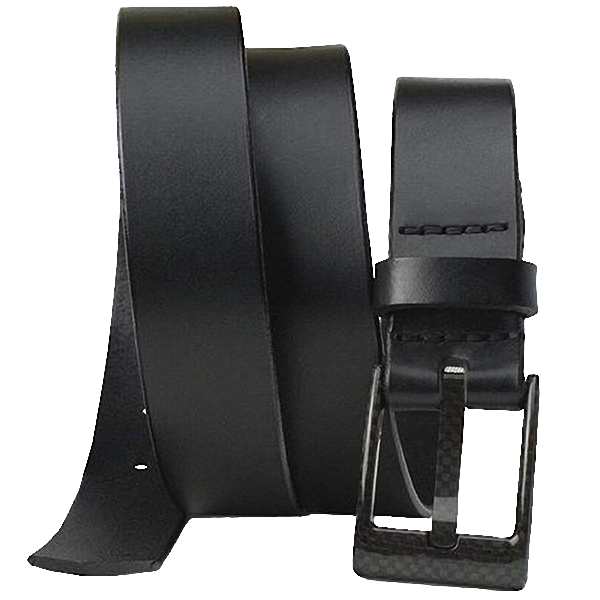 The Classified Black Belt Nickel Smart - carbonfiberbelts.com, lightweight, no metal, TSA Friendly